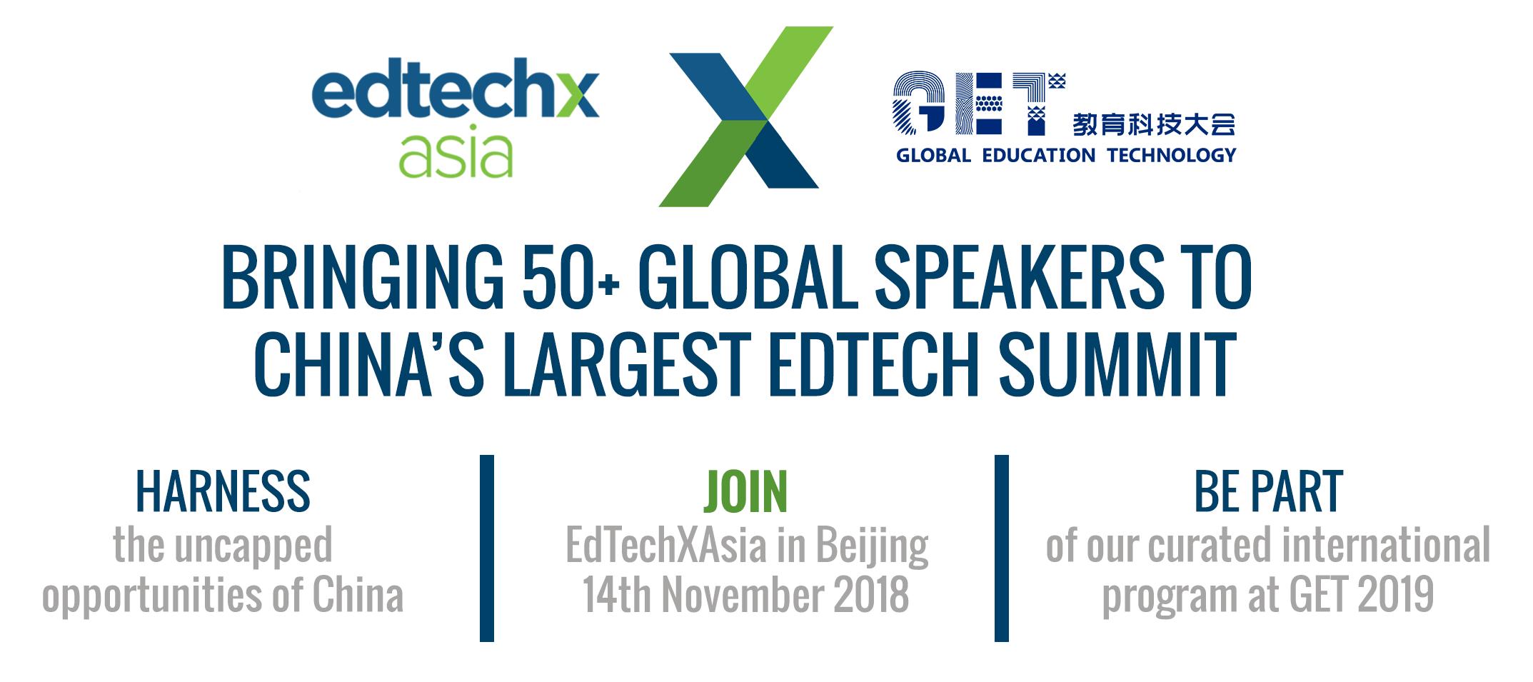 EdTechX Asia @ GET 2018
